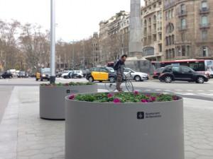 Piezas decorativas para obra pública