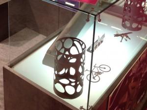 Piezas decorativas de metal