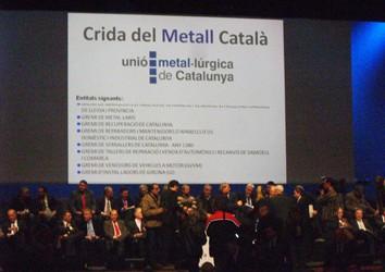 "Metalic participa en la ""Crida del Metall"""