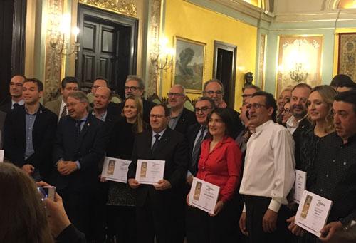 Metalic recoge el Premio por su trabajo solidario, empresa solidaria 2017