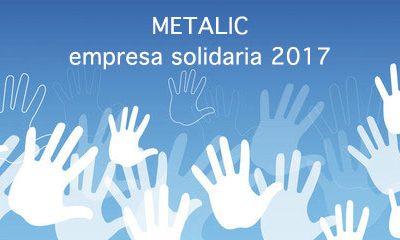 Metalic recibe un Premio a la Solidaridad