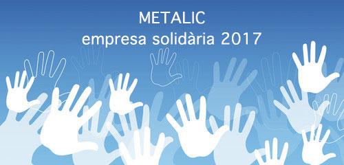 Metalic rep un Premi a la Solidaritat